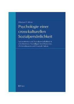 Abbildung von Kleiter | Psychologie einer cross-kulturellen Sozialpersönlichkeit | 2004 | Egozentrismus und Sozialpersön...