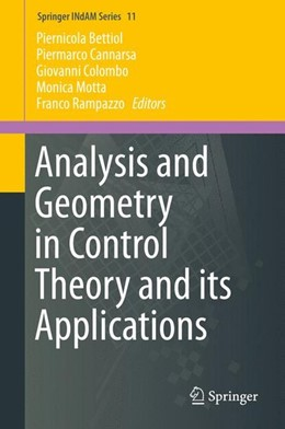 Abbildung von Bettiol / Cannarsa / Colombo / Motta / Rampazzo | Analysis and Geometry in Control Theory and its Applications | 1st ed. 2015 | 2015