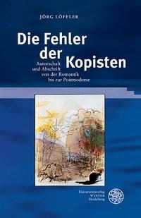 Die Fehler der Kopisten | Löffler, 2016 | Buch (Cover)