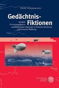 Gedächtnis-Fiktionen | Ackermann, 2016 | Buch (Cover)