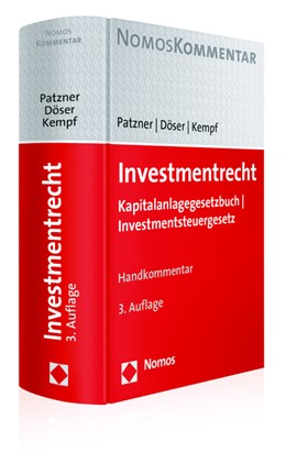 Abbildung von Patzner / Döser   Investmentrecht   3. Auflage   2017   beck-shop.de
