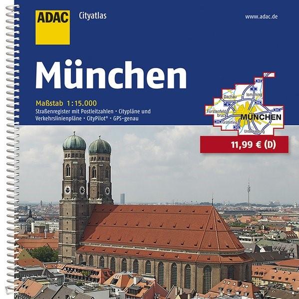 Abbildung von ADAC Cityatlas München 1:15 000 | 5. Auflage | 2015