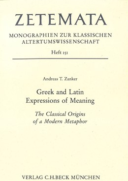 Abbildung von Greek and Latin Expressions of Meaning | 1. Auflage | 2016 | Heft 151 | beck-shop.de
