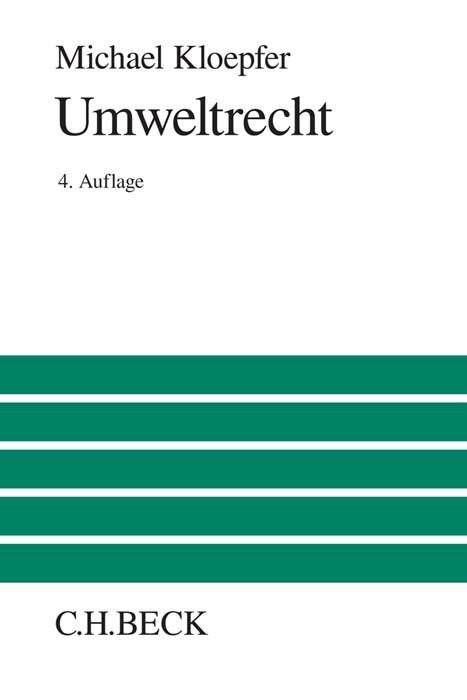 Umweltrecht | Kloepfer | 4. Auflage, 2016 | Buch (Cover)