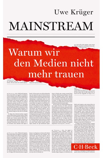 Cover: Uwe Krüger, Mainstream