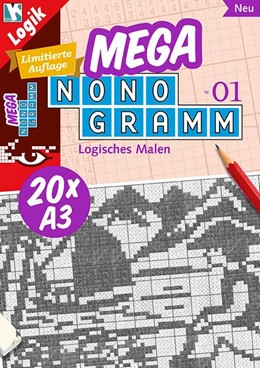 Abbildung von Mega-Nonogramm 01 | 2015 | limitierte Auflage