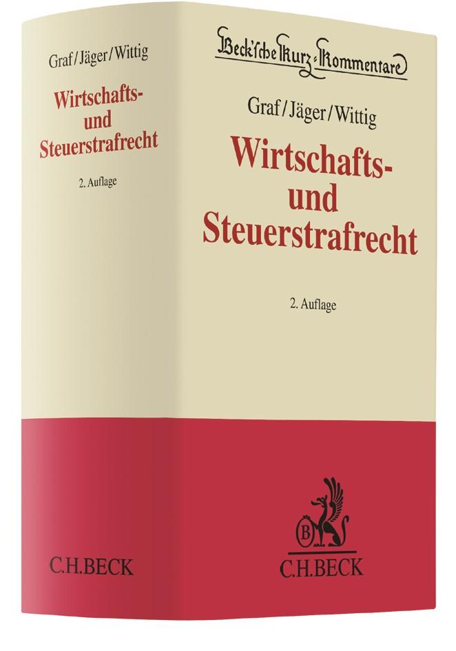 Wirtschafts- und Steuerstrafrecht | Graf / Jäger / Wittig | 2. Auflage, 2017 | Buch (Cover)