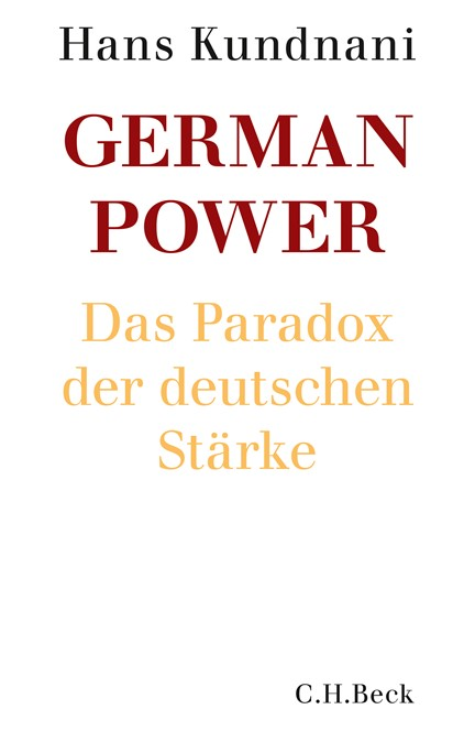 Cover: Hans Kundnani, German Power