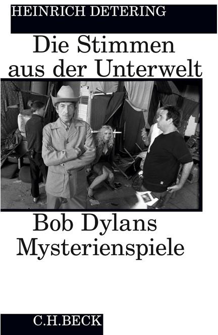 Cover: Heinrich Detering, Die Stimmen aus der Unterwelt