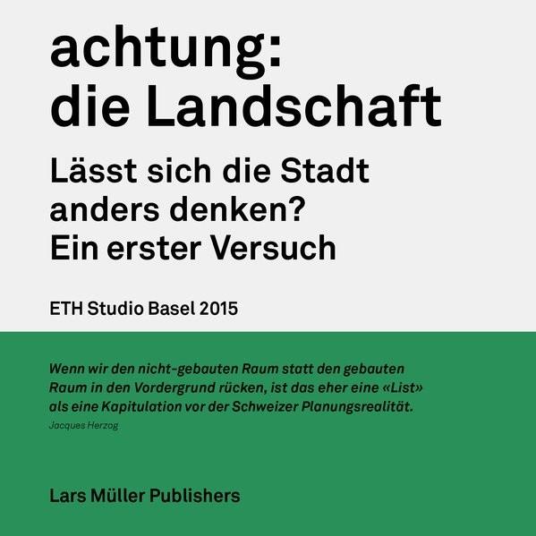 Abbildung von achtung: die Landschaft | 2015