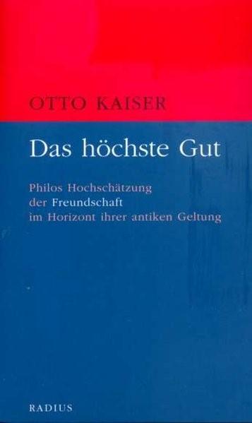 Das höchste Gut | Kaiser, 2015 | Buch (Cover)