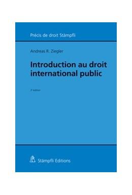 Abbildung von Ziegler | Introduction au droit international public | 3ème Edition | 2015