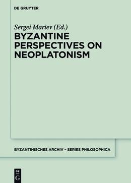 Abbildung von Mariev | Byzantine Perspectives on Neoplatonism | 2017 | 1