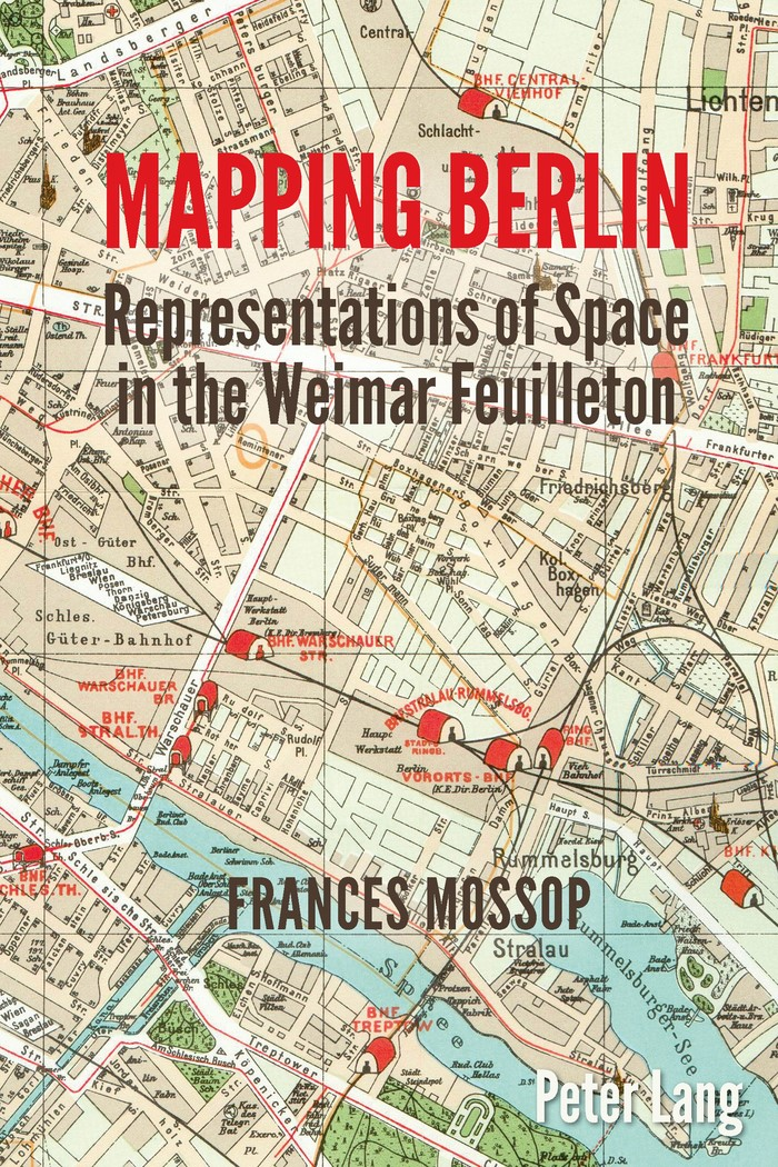 Mapping Berlin | Mossop, 2015 | Buch (Cover)