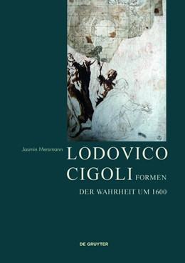 Abbildung von Mersmann   Lodovico Cigoli   Inhaltpapier: 115 g Parigord   2017   Formen der Wahrheit um 1600