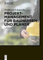 Projektmanagement für Bauherren und Planer | Kalusche | 4. Auflage, 2016 | Buch (Cover)