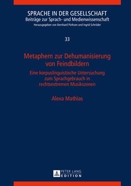 Abbildung von Mathias | Metaphern zur Dehumanisierung von Feindbildern | 2015 | Eine korpuslinguistische Unter... | 33