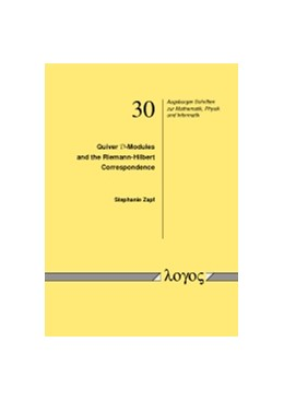 Abbildung von Zapf | Quiver D-Modules and the Riemann-Hilbert Correspondence | 2015 | 30