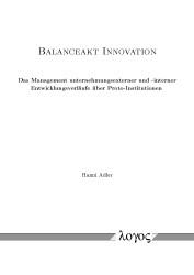 Abbildung von Adler | Balanceakt Innovation | 2015