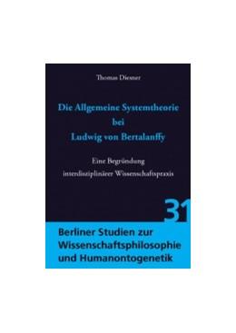 Abbildung von Diesner   Die Allgemeine Systemtheorie bei Ludwig von Bertalanffy   1. Auflage   2015   31   beck-shop.de