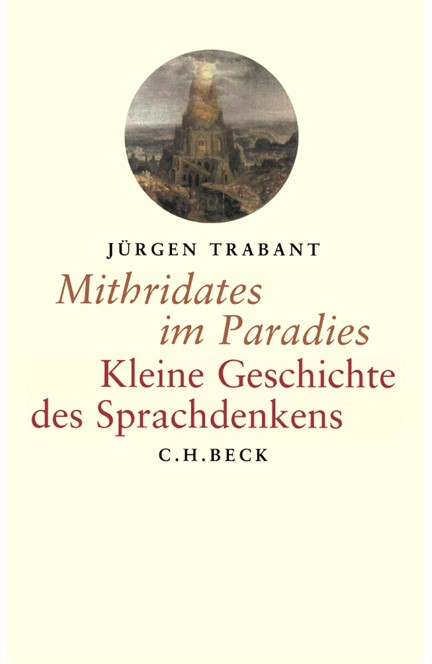 Cover: Jürgen Trabant, Mithridates im Paradies