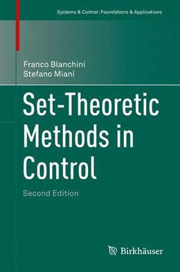 Abbildung von Blanchini / Miani | Set-Theoretic Methods in Control | 2nd ed. 2015 | 2015
