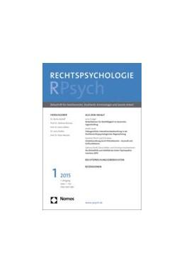 Abbildung von Rechtspsychologie – RPsych | 5. Jahrgang | 2019 | Zeitschrift für Familienrecht,...