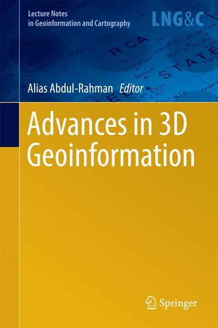 Advances in 3D Geoinformation | Abdul-Rahman | 1st ed. 2017, 2016 | Buch (Cover)