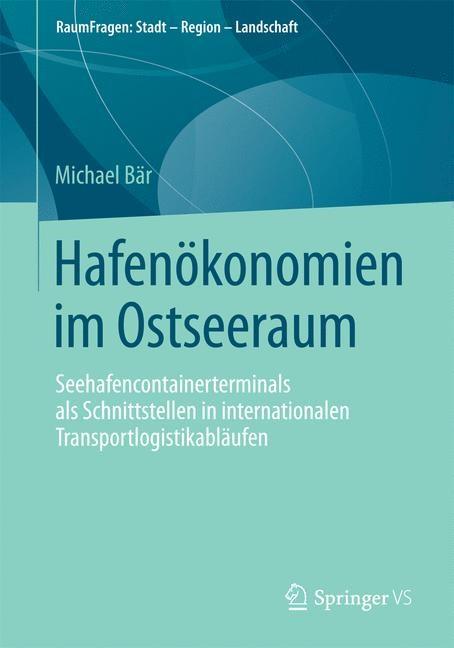 Hafenökonomien im Ostseeraum   Bär, 2015   Buch (Cover)