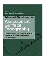 advanced techniques for assessment surface topography blunt liam jiang xiang