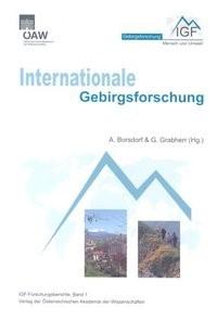 Internationale Gebirgsforschung | Borsdorf / Grabherr, 2007 | Buch (Cover)
