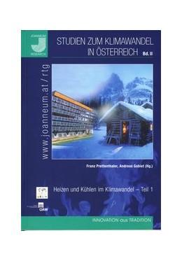 Abbildung von Prettenthaler / Gobiet | Studien zum Klimawandel in Österreich - Band II | 2008 | Heizen und Kühlen im Klimawand... | 2