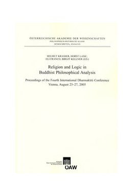 Abbildung von Krasser / Lasic / Franco / Kellner | Religion and Logic in Buddhist Philosophical Analysis | 2011 | Proceedings of the Fourth Inte... | 424