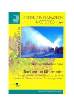 Abbildung von Prettenthaler / Formayer | Tourismus im Klimawandel: Zur regionalwirtschaftlichen Bedeutung des Klimawandels für die österreichischen Tourismusgemeinden | 2011 | 6