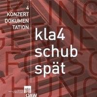 """""""Kämpfe der Leidenschaften und des Verstandes"""" - Schuberts späte Werke für Klavier zu vier Händen, 2013 (Cover)"""
