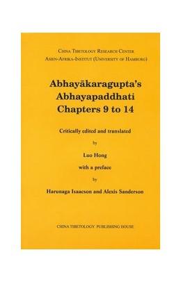 Abbildung von Abhayakaragupta`s Abhayapaddhati Chapters 9 to 14 | 2013 | Critically edited and translat... | 14