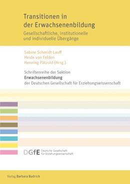 Abbildung von Pätzold / Schmidt-Lauff | Transitionen in der Erwachsenenbildung | 1. Auflage | 2015 | beck-shop.de