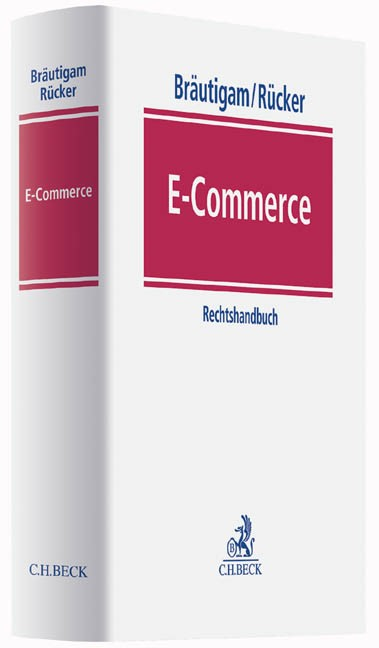 E-Commerce   Bräutigam / Rücker   Buch (Cover)
