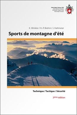 Abbildung von Winkler / Brehm / Haltmeier | Sports de montagne d'été | 3. Auflage | 2015 | Technique, Tactique, Sécurité