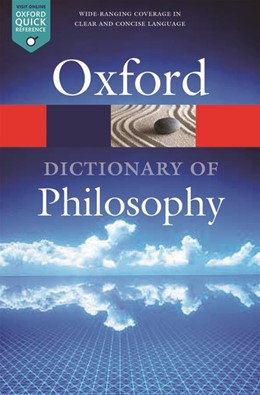 Abbildung von Blackburn | The Oxford Dictionary of Philosophy | 3. Auflage | 2016