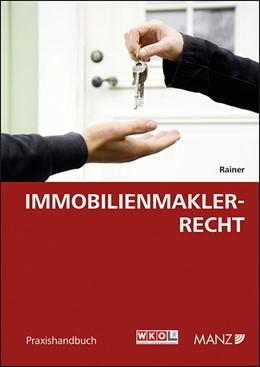 Abbildung von Rainer | Immobilienmaklerrecht | 1. Auflage | 2015 | beck-shop.de