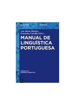 Abbildung von Martins / Carrilho | Manual de linguística portuguesa | 2016 | 16