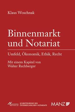 Abbildung von Woschnak | Binnenmarkt und Notariat | 2015 | 57