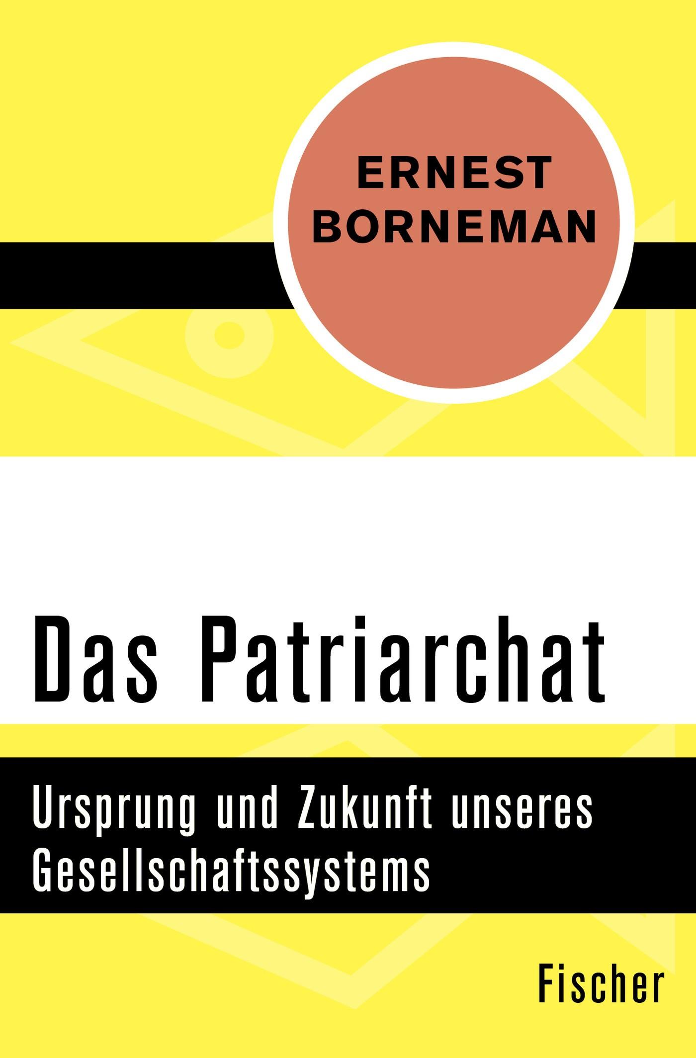 Das Patriarchat | Borneman, 2015 | Buch (Cover)