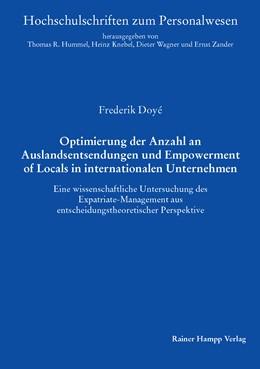 Abbildung von Doyé   Optimierung der Anzahl an Auslandsentsendungen und Empowerment of Locals in internationalen Unternehmen   2015   Eine wissenschaftliche Untersu...   44