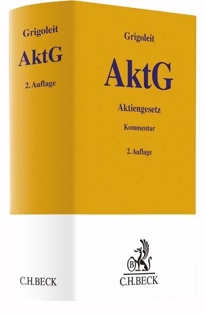 Aktiengesetz: AktG | Grigoleit | 2. Auflage, 2019 | Buch (Cover)