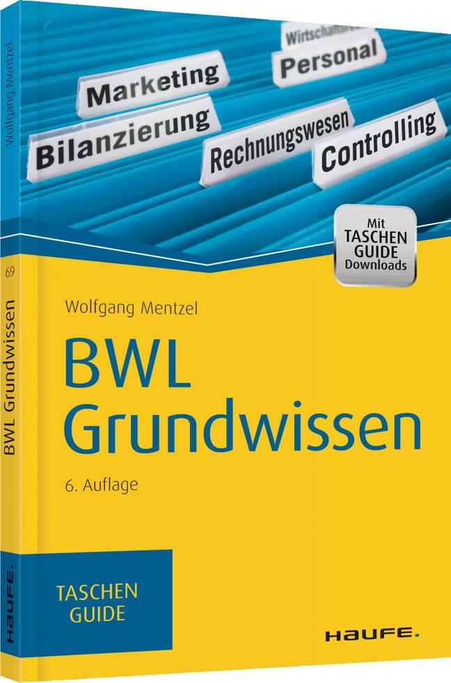Abbildung von Mentzel   BWL Grundwissen   6. Auflage   2015