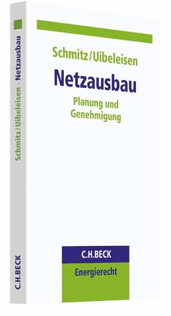 Netzausbau | Schmitz / Uibeleisen, 2016 | Buch (Cover)