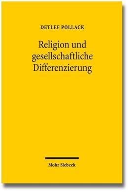 Abbildung von Pollack | Religion und gesellschaftliche Differenzierung | 2016 | Studien zum religiösen Wandel ...