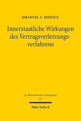 Abbildung von Ionescu   Innerstaatliche Wirkungen des Vertragsverletzungsverfahrens   1. Auflage   2016   117   beck-shop.de
